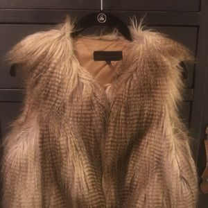 Selling Steve Madden Faux Fur Vest.